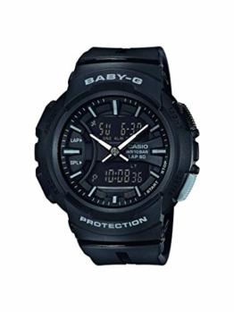 Baby-G Damen Analog-Digital Quarz Uhr mit Harz Armband BGA-240BC-1AER - 1