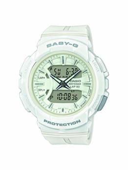 Baby-G Damen Analog-Digital Quarz Uhr mit Harz Armband BGA-240BC-7AER - 1