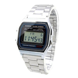 Casio Collection A158WA-1DF Unisex Chronograph - 1