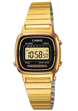 Casio Collection Damen Retro Armbanduhr LA670WEGA-1EF - 1