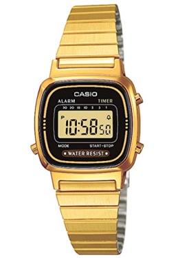 Casio Collection Damen Retro Armbanduhr LA670WEGA-1EF - 1