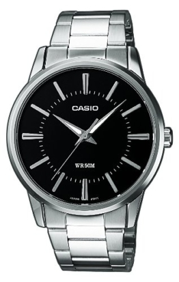 Casio Collection Herren Armbanduhr MTP-1303PD-1AVEF, schwarz - 1