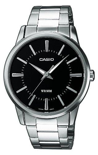 Casio Collection Herren Armbanduhr MTP-1303PD-1AVEF, schwarz - 1