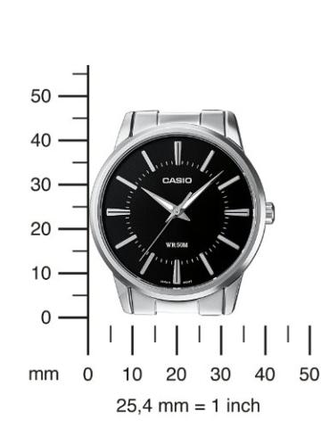 Casio Collection Herren Armbanduhr MTP-1303PD-1AVEF, schwarz - 4