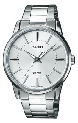 Casio Collection Herren Armbanduhr MTP-1303PD-7AVEF, Silber - 1