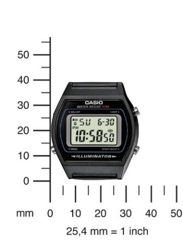 Casio Collection Unisex-Armbanduhr W2021AVEF - 4