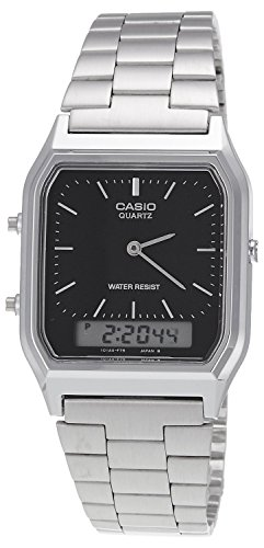 Casio Collection Unisex Retro Armbanduhr AQ-230A-1DMQYES - 1