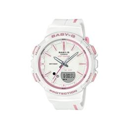 CASIO Damen Analog-Digital Quarz Uhr mit Harz Armband BGS-100RT-7AER - 1