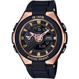 Casio Damen Analog-Digital Quarz Uhr mit Plastik Armband MSG-400G-1A1ER - 1