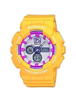 Casio Damen Analog-Digital Quarz Uhr mit Resin Armband BA-120-9BER - 1