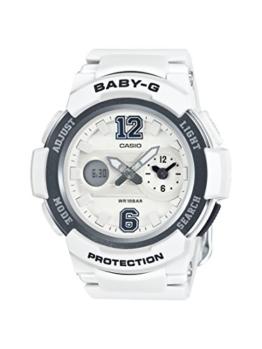 Casio Damen Analog-Digital Quarz Uhr mit Resin Armband BGA-210-7B1ER - 1