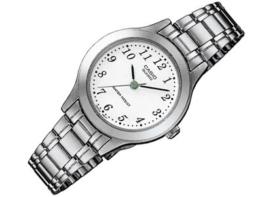 Casio Damen Analog Quarz mit Edelstahl Armbanduhr LTP 1128PA 7B - 1