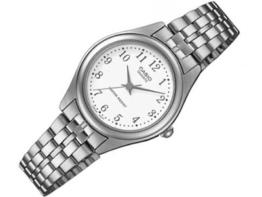 Casio Damen Analog Quarz mit Edelstahl Armbanduhr LTP 1129PA 7B - 1