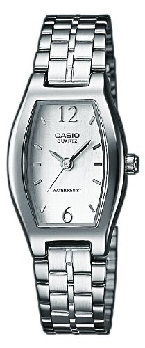 Casio Damen Analog Quarz mit Edelstahl Armbanduhr LTP 1281PD 7A - 1
