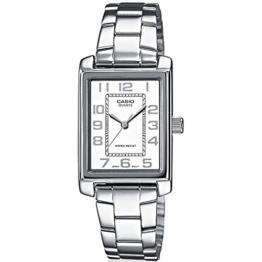 Casio Damen Analog Quarz mit Edelstahl Armbanduhr LTP1234PD7BEF - 1