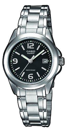 Casio Damen Analog Quarz Uhr mit Edelstahl Armband LTP-1259PD-1A - 1