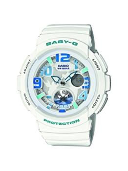 Casio Damen-Armbanduhr Analog - Digital Quarz Resin BGA-190-7BER - 1
