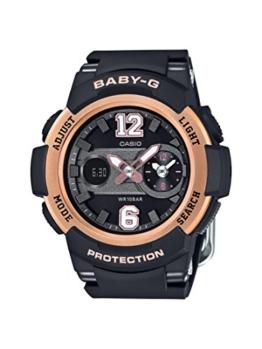 Casio Damen-Armbanduhr Baby-G Analog - Digital Quarz Resin BGA-210-1BER - 1