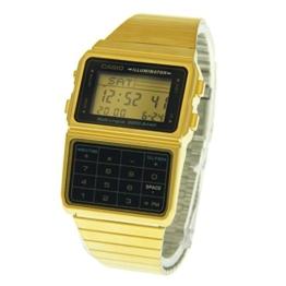 Casio DBC611G-1D Casio Digitalarmbanduhr, goldfarben und schwarz, Einheitsgröße - 1