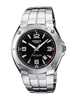 Casio Edifice Herren Armbanduhr EF-126D-1AVEF, schwarz - 1
