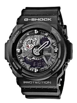 Casio Herren-Armbanduhr XL G-Shock Analog - Digital Quarz Resin GA-300-1AER - 1