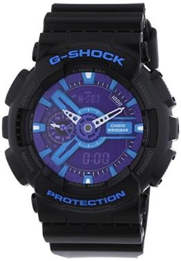 Casio Herren-Armbanduhr XL G-Shock Style Series Chronograph Quarz Resin GA-110HC-1AER - 1