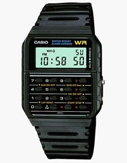 Casio Herren Uhr mit Taschenrechner CA-53W-1 - 1