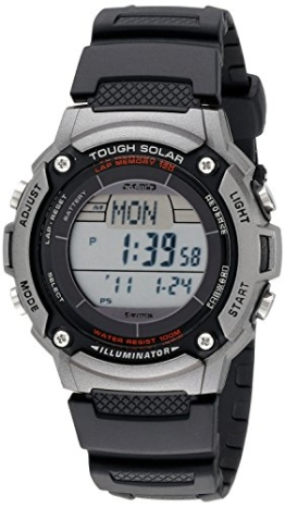 Casio Herren WS200H-1AVCF Tough Solar Powered Multi-Funktions-Sport Watch - 1