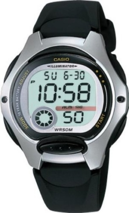 Casio Kinder-Armbanduhr Digital Quarz LW-200V-1AVEF - 1