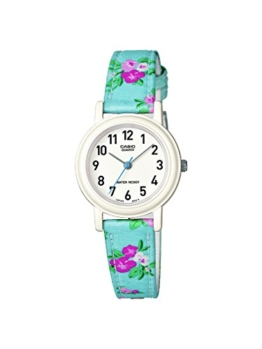 Casio Kinder Quarz-Uhr mit weißem Zifferblatt Analog-Anzeige und andere-Gurt lq-139lb-2b2er - 1