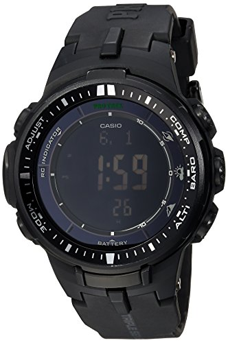 Casio PRW-3000-1ACR Protrek Herren-Sportuhr, Schwarz - 1