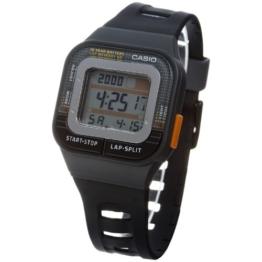 Casio–sdb-100–1A–Armbanduhr–Automatik–Digitale Armband Kunstharz schwarz - 1
