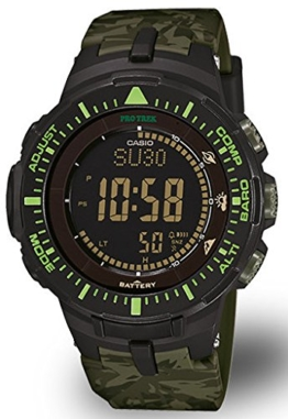 Casio Sport Pro Trek Herrenuhr Digital Quartz Resin Grün PRG-300CM-3ER - 1