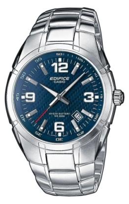 Edifice Casio Herren Armbanduhr EF-125D-2AVEF, blau - 1