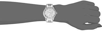 Fossil Damen Analog Quarz Uhr mit Edelstahl Armband ES3202 - 4