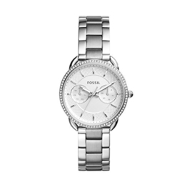 Fossil Damen Analog Quarz Uhr mit Edelstahl Armband ES4262 - 1