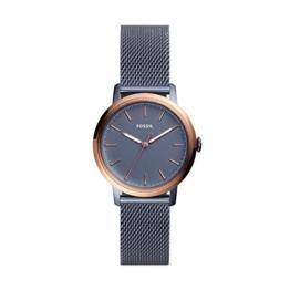 Fossil Damen Analog Quarz Uhr mit Edelstahl Armband ES4312 - 1