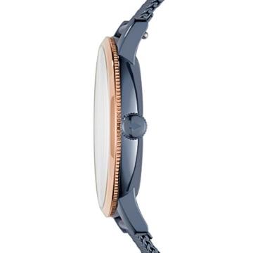 Fossil Damen Analog Quarz Uhr mit Edelstahl Armband ES4312 - 2