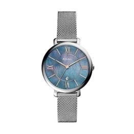 Fossil Damen Analog Quarz Uhr mit Edelstahl Armband ES4322 - 1