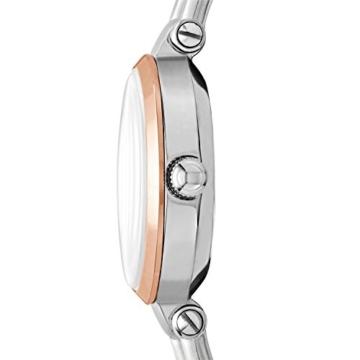 Fossil Damen Analog Quarz Uhr mit Leder Armband ES4277 - 2