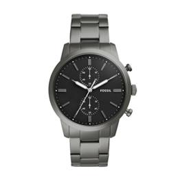 Fossil Herren Analog Quarz Uhr mit Edelstahl Armband FS5349 - 1
