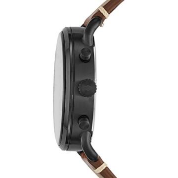 Fossil Herren Analog Quarz Uhr mit Leder Armband FS5403 - 2