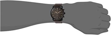 Fossil Herren Analog Quarz Uhr mit Leder Armband FS5403 - 3