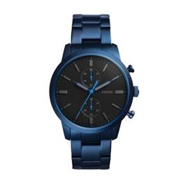 Fossil Herren Quarz Uhr mit Edelstahl Armband FS5345 - 1