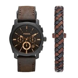 Fossil Herren-Uhren FS5251SET, Schwarz - 1