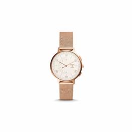Fossil Hybrid Smartwatch - Q Harper Rose Gold Edelstahl Damenuhr (FTW5028) - 1