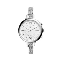 Fossil Q Annette Damen Hybrid Smartwatch - Edelstahlgehäuse mit Mesharmband – Kompatibel Android und iOS - 1