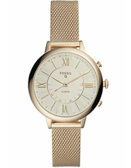 Fossil Q Damen-Smartwatch aus Jacqueline, Edelstahl, goldfarben FTW5020 - 1