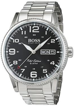 Hugo Boss Herren-Armbanduhr 1513327, Stahl/Schwarz - 1