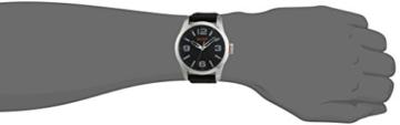 Hugo Boss Orange Paris Herren-Armbanduhr Quartz Analog mit schwarzem Silikon Armband 1513350 - 5